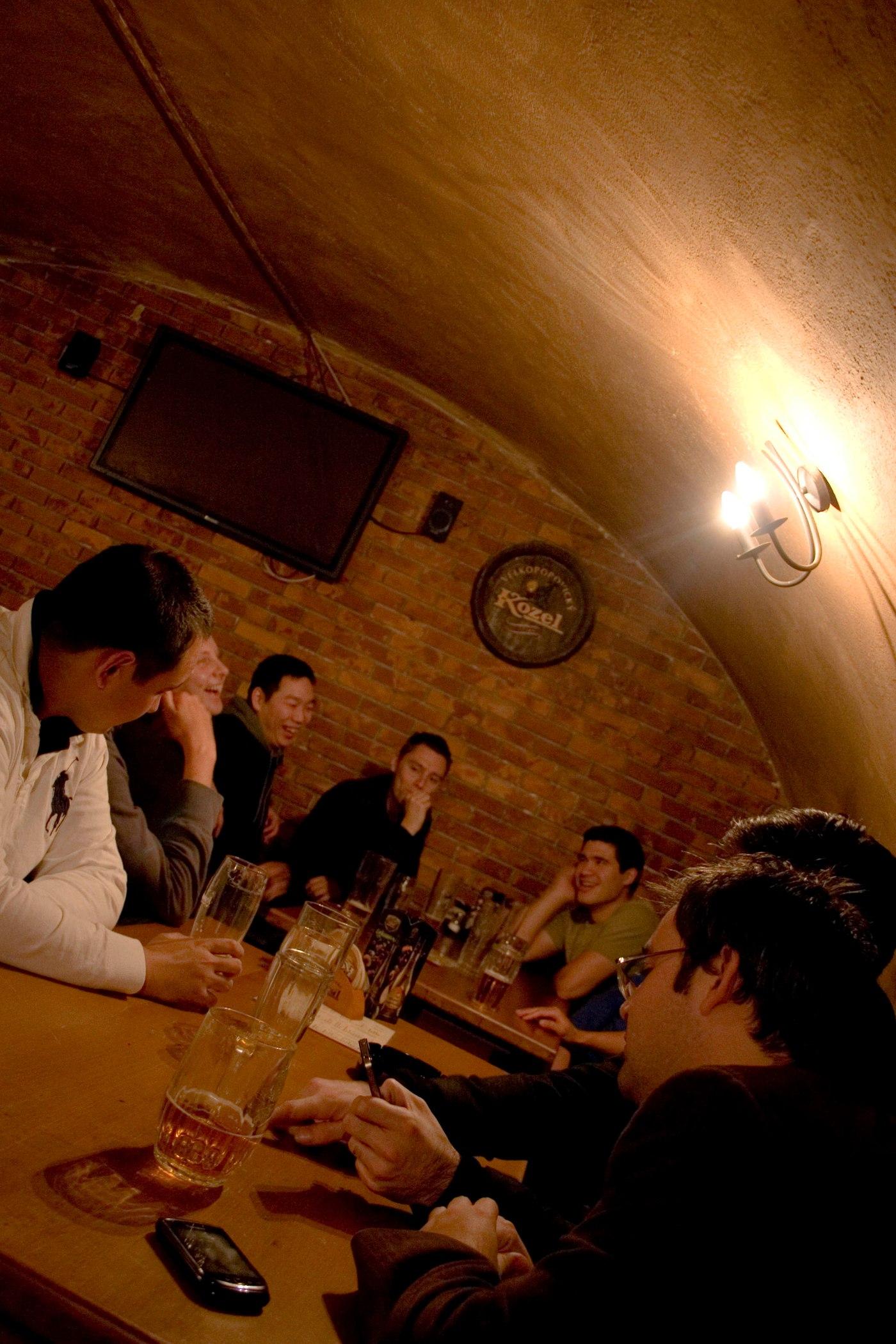 basement drinking in bratislava